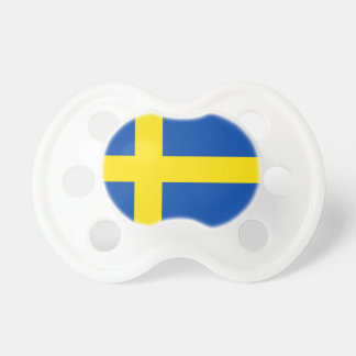 The Flag of Sweden Pacifier