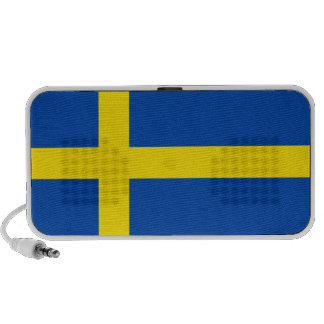 The Flag of Sweden Notebook Speakers