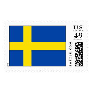 The Flag of Sweden Stamps