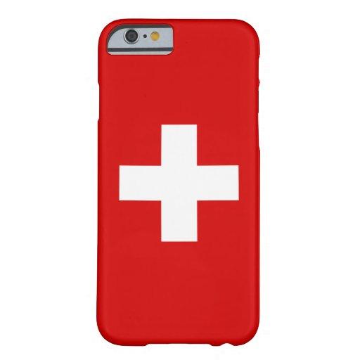 The Flag of Switzerland iPhone 6 Case