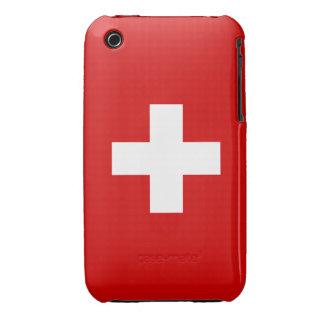 The Flag of Switzerland iPhone 3 Case-Mate Case