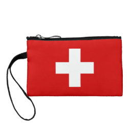 The Flag of Switzerland Coin Wallet
