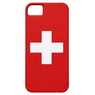 The Flag of Switzerland iPhone 5 Cases