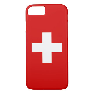 The Flag of Switzerland iPhone 8/7 Case