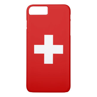 The Flag of Switzerland iPhone 8 Plus/7 Plus Case