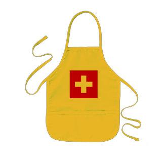 The Flag of Switzerland Kids' Apron
