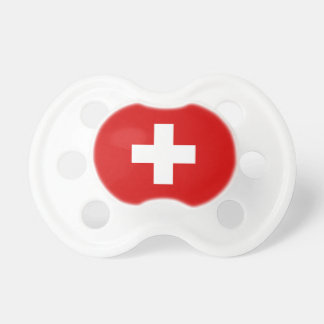 The Flag of Switzerland Pacifier