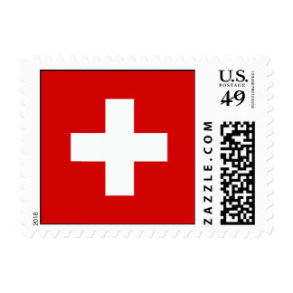The Flag of Switzerland Stamp