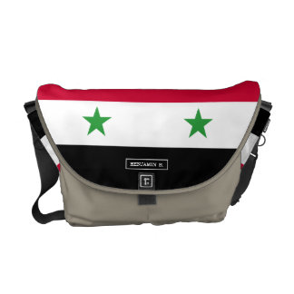 The Flag of Syria Courier Bag