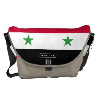 The Flag of Syria Messenger Bag