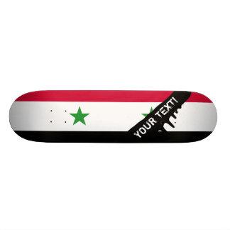 The Flag of Syria Skateboard