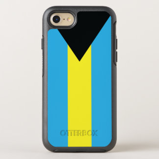 The Flag of the Commonwealth of the Bahamas OtterBox Symmetry iPhone 7 Case