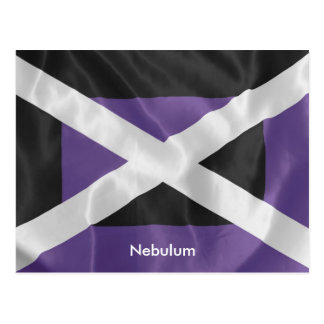 The Flag of the Dark Witch Narzandra Postcard