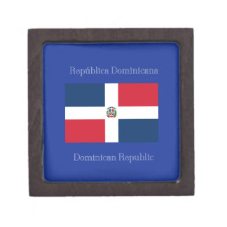 The flag of the Dominican Republic Premium Gift Boxes