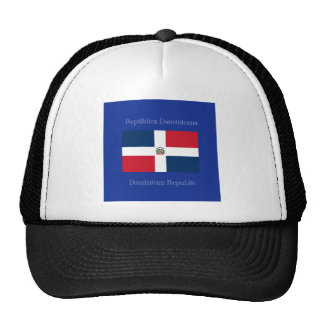 The flag of the Dominican Republic Trucker Hat
