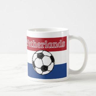 The flag of the Netherlands | Football Coffee Mug