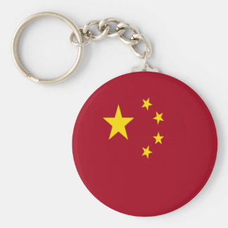 The flag of the People's Republic of China Keychain