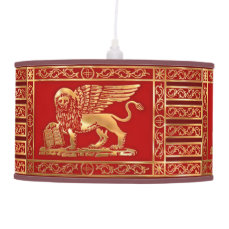 The Flag Of The Republic Of Venice Ceiling Lamp