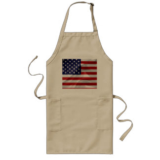 The Flag of the United States of America Long Apron