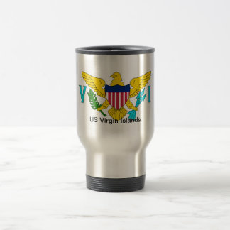 The Flag of the US Virgin Islands Travel Mug