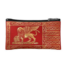 The flag of Venice, Italy Cosmetic Bag