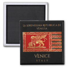 The Flag of Venice, Italy Magnet
