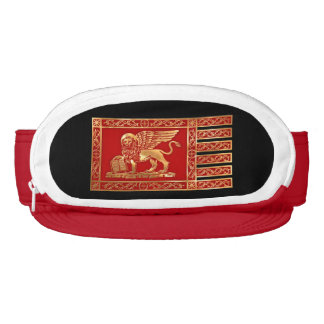 The flag of Venice, Italy Visor