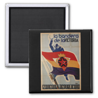 The flag of victory (1937)_Propaganda Poster Magnet
