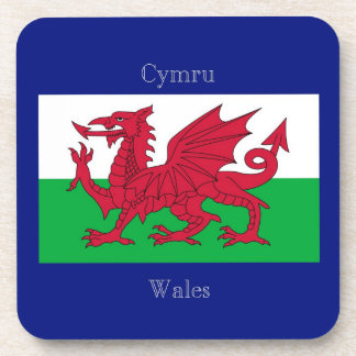 The Flag of Wales Coasters