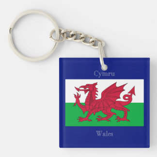 The Flag of Wales Keychain