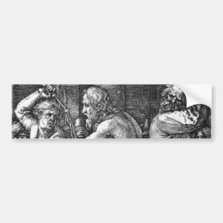 The Flagellation by Albrecht Durer Bumper Sticker