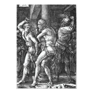 The Flagellation by Albrecht Durer Card
