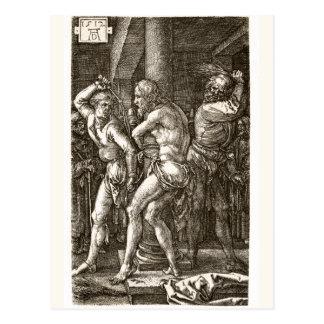 The Flagellation by Albrecht Durer Postcard