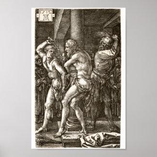 The Flagellation by Albrecht Durer Print