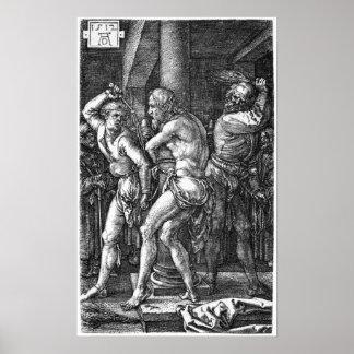 The Flagellation by Albrecht Durer Poster