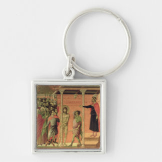 The Flagellation, from the Maesta altarpiece Keychain
