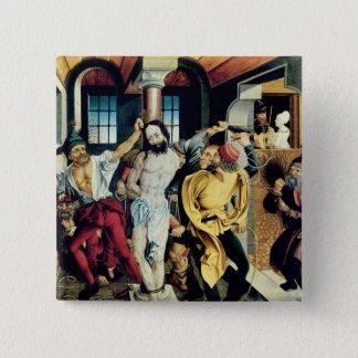 The Flagellation of Christ Button
