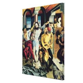 The Flagellation of Christ Canvas Print