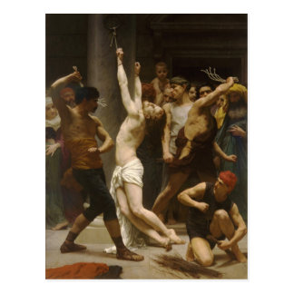 The Flagellation of Our Lord Jesus Christ 1880 Postcard