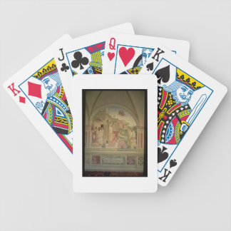 The Flagellation of St. Benedict, from the Life of Bicycle Poker Deck