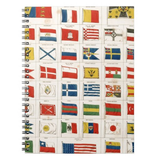 The Flags of all Nations Notebooks