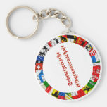 The Flags of the Cantons of Switzerland, German Keychains