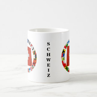 The Flags of the Cantons of Switzerland Classic White Coffee Mug