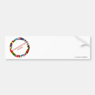 The Flags of the Cantons of Switzerland, Romance Bumper Sticker