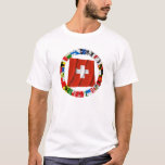 The Flags of the Cantons of Switzerland T-Shirt