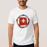 The Flags of the Cantons of Switzerland Tees