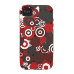 The Flame - Circles Vibe iPhone 4 Case