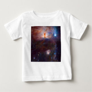The Flame Nebula NGC 2024 Star Forming Region Baby T-Shirt