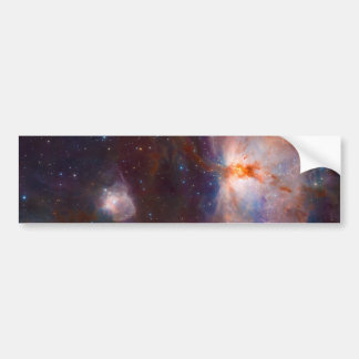 The Flame Nebula NGC 2024 Star Forming Region Car Bumper Sticker
