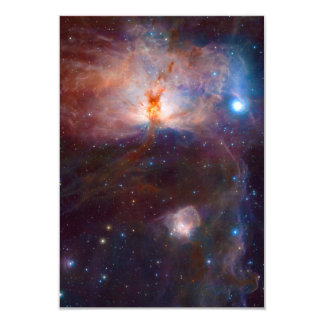The Flame Nebula NGC 2024 Star Forming Region Card